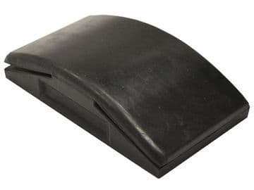 Rubber Sanding Block 70 x 125mm